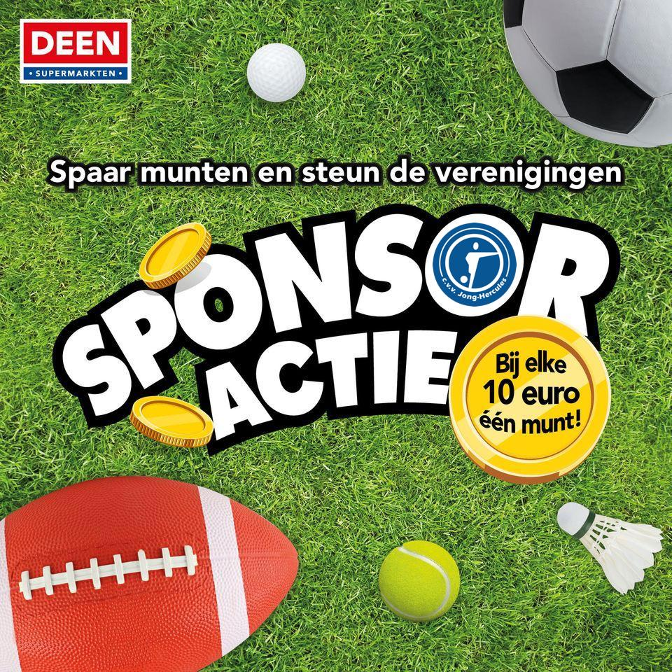 Deen Sponsoractie!