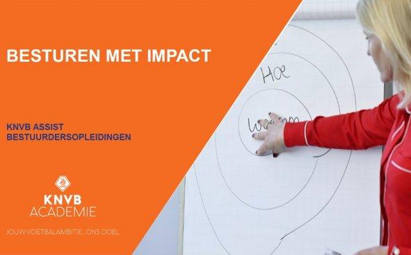 KNVB-opleiding besturen met impact